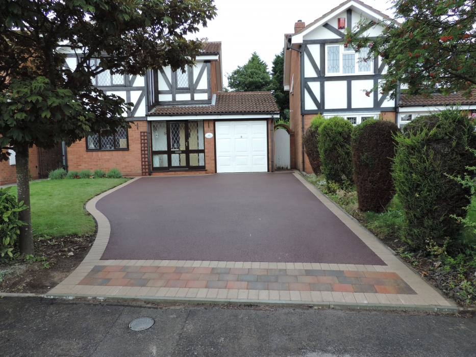 Red Tarmac Installers Birmingham Red Tarmacing Birmingham